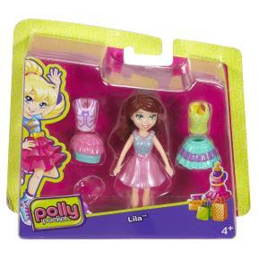 Polly Pocket Κούκλα με Ρούχα - Lila