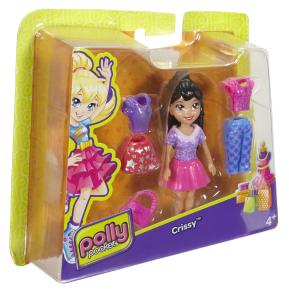Polly Pocket Κούκλα με Ρούχα - Crissy