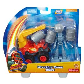 Blaze Όχημα με Αξεσουάρ - Crane Blaze (CGK18)