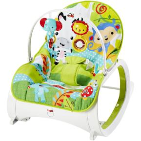 Rainforest Friends Newborn Toddler Ριλάξ/Κούνια