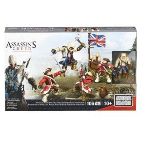 Assassin's Creed - Φιγούρες Με Αξεσουάρ American Revolution Pack