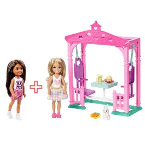 Barbie Club Chelsea Σετ Εξοχής Πικ νικ & Φίλες (combo pack)