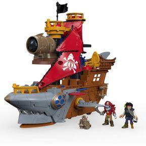 Fisher Price Imaginext: Πειρατικό Καράβι - Καρχαρίας (DHH61)