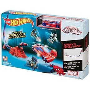 Hot Wheels Marvel Πίστες - Spiderman