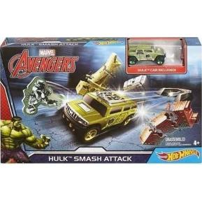 Hot Wheels Marvel Πίστες - Hulk