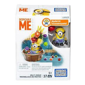 Mega Blocks Φιγούρες Minions με Αξεσουάρ Jelly Jiggle (DMV20)