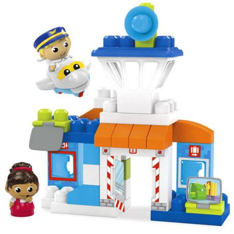 Fisher Price Mega Blocks Αεροδρόμιο-0