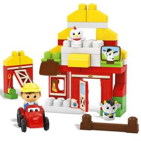 Fisher Price Mega Bloks Αχυρώνας