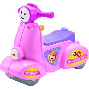 Fisher Price Εκπαιδευτικό Ροζ Scooter Smart Stages