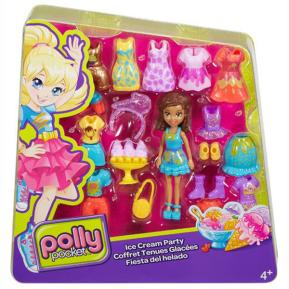 Polly Pocket Σετ Μόδας - Ice Cream Party