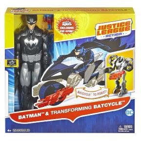 Justice League Φιγούρες 30cm με Όχημα