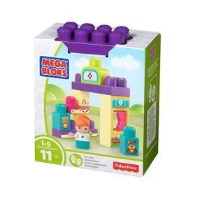 Mega Blocks Σετ Παιχνιδιού με 1 Φιγούρα Κτηνιατρείο (DYC54)