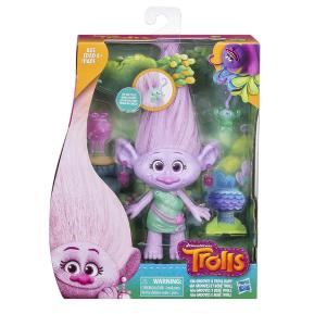 Hasbro Trolls Medium Doll Hairplay Gia Groovers & Troll Bab