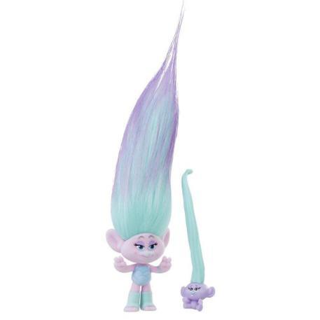 Hasbro Trolls Troll Town Small Hair Raising Satin & Troll Baby-0