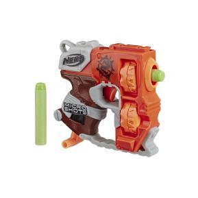 Hasbro Nerf Microshots Zombie Strike Flipfury Πορτοκαλί