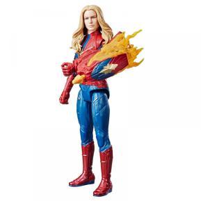 Hasbro Φιγούρα Avengers Titan Quantum Power Captain Marvel (E3307)