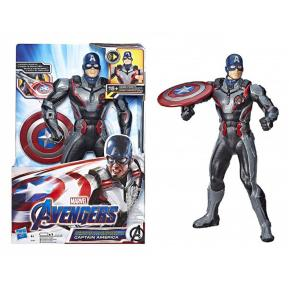Hasbro Avengers Figure Shield Blast Captain America (E3358)
