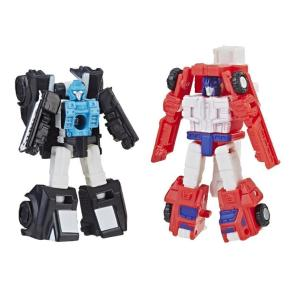 Transformers Generations War for Cybertron Micromaster Red Heat & Stakeout (E3420)