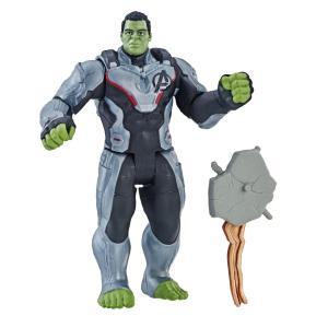 Hasbro Marvel Avengers: Endgame Team Suit Hulk Deluxe Φιγούρα 15cm (E3350)