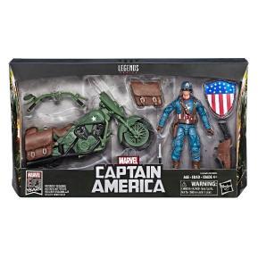Marvel Legends Series Vehicle Captain America (E3498)
