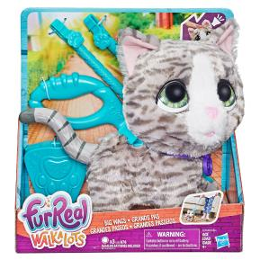 Hasbro Furreal Walkalots Big Wags, Kitty - Γατάκι (E3504)