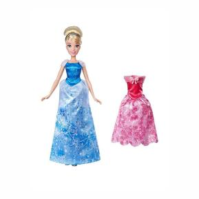 Disney Princess Doll With Extra Fashion Cinderella's Summer Day Styles (E4589)