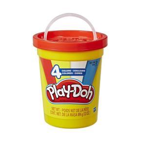 Hasbro Play-Doh Modern Colors Tub Με 4 Μοντέρνα Χρώματα E5207