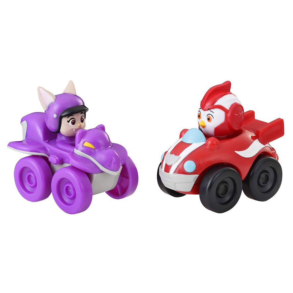 Hasbro Top Wing Mission Control Racers Rod & Betty
