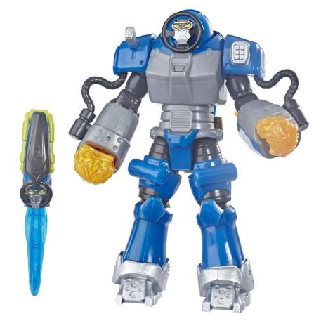 Power Rangers 6'' Beast Morphers Deluxe Figure Smash Beastbot (E5899)-0