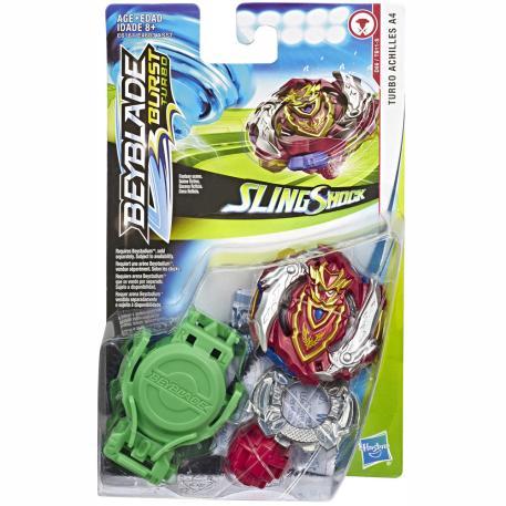 Hasbro Beyblade Slingshock Starter Pack Turbo Achilles A4 (E4603)-0