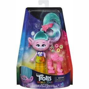 Hasbro Trolls Deluxe Fashion Glam Satin