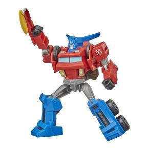 Hasbro Transformers Bumblebee Cyberverse Mega Axe Attack Optimus Prime 13cm