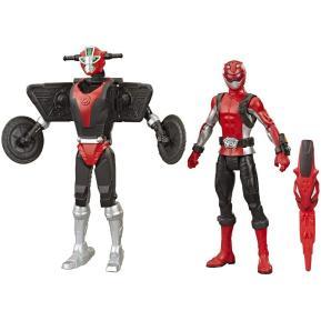 Hasbro Power Rangers Beast Morphers Red Ranger & Morphin Cruise Beastbot