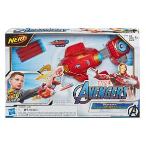 Avengers Nerf Power Moves Marvel Iron Man Repulsor Blast Gauntlet (E7376)