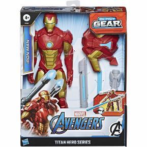 Hasbro Φιγούρα Avengers - Titan Hero - Blast Gear Iron Man - 30 cm (E7380)
