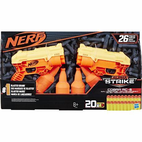 Nerf Alpha Strike Cobra RC 6 Dual Target (E7565)-1