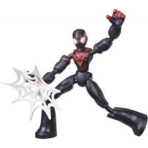 Hasbro Spiderman Bend And Flex Φιγούρα Δράσης Miles Morales 15 cm