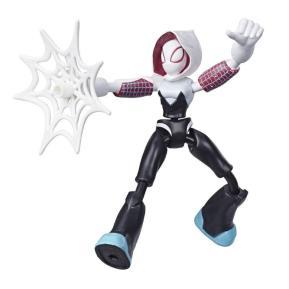 Hasbro Spiderman Bend And Flex Φιγούρα Δράσης Ghost Spider 15 cm