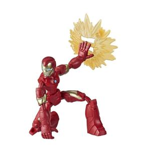 Hasbro Avengers Bend and Flex Figures 15cm Iron Man (E7377)