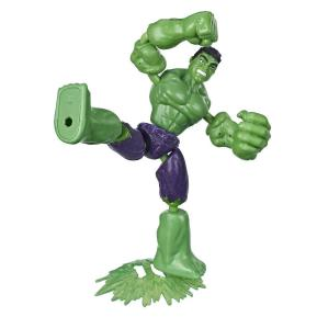 Avengers Bend and Flex Figures 15cm Hulk (E7377)