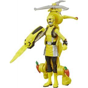 Hasbro Power Rangers Beast Morphers Yellow Rangere & Morphin Jax Beastbot