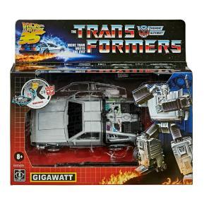 Hasbro Transformers Generation: Back to the Future Delorean Gigawatt