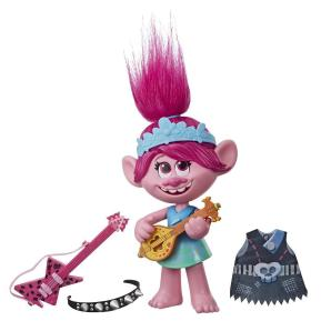 Hasbro Trolls Φιγούρα Pop to Rock Poppy