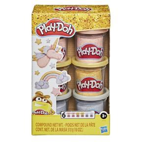 Hasbro Play Doh Multi-metal Color Clay Combination 6 Cups
