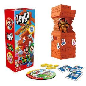 Hasbro Επιτραπέζιο Jenga Super Mario Edition Board Game E9487
