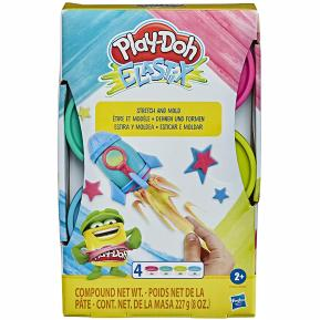 Hasbro Play-Doh Stretch Elastix Bright (E6967)