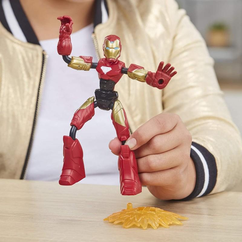 Hasbro Marvel Avengers Bend And Flex, Flex Rider Iron Man Και Μοτοσικλέτα 2 Σε 1 F0244