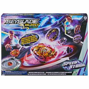 Hasbro Beyblade Burst Surge Speedstorm Motor Strike Battle Set Game F0578
