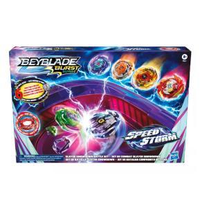 Hasbro Beyblade Burst Surge Speedstorm Slayer Showdown Battle Set F0661
