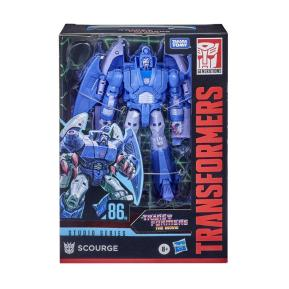 Hasbro Transformers Toys Studio Series 86 Voyager The Transformers The Movie Scourge 16,4cm